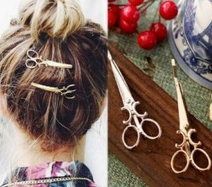 5 for 10$Unique Scissor Hair Pin